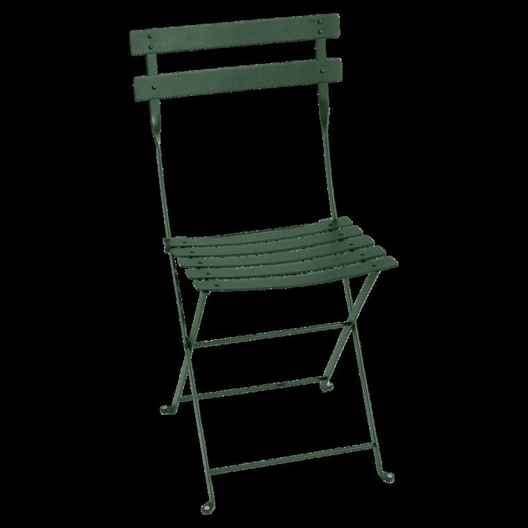 BISTRO Metal Stol Cedar green