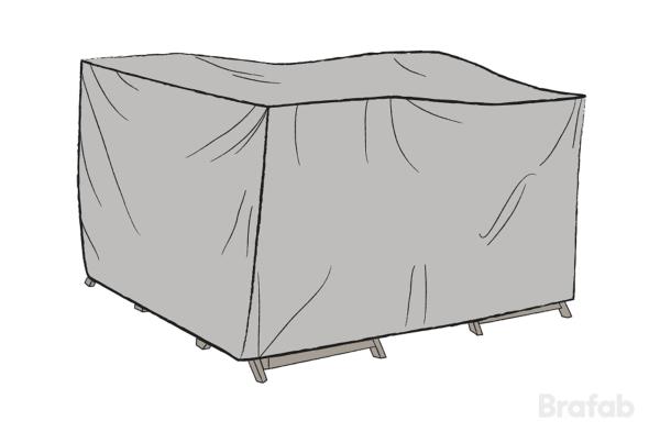 Möbelskydd Grå 140x130x65cm
