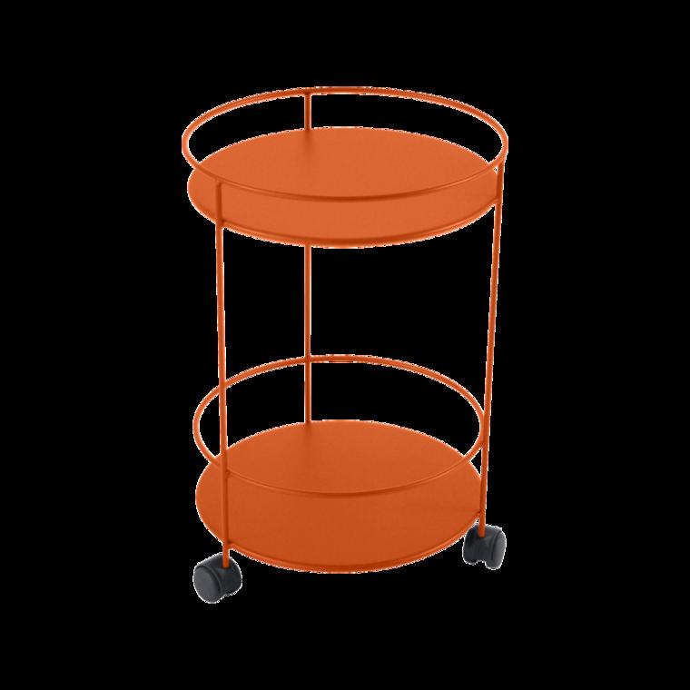 BISTRO GUINGUETTE Bord m.hjul 40cm Carrot