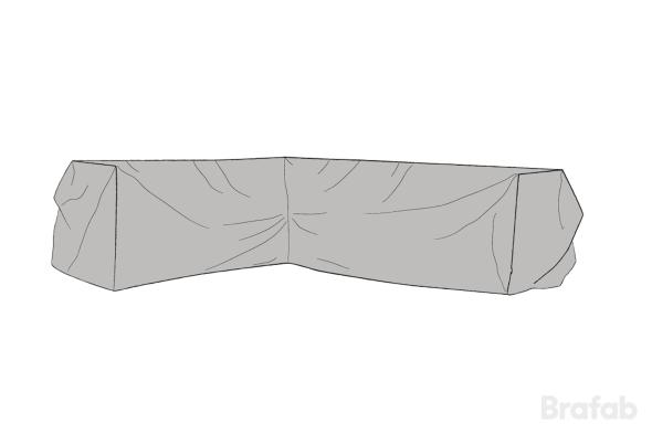 Soffskydd Ninja 330/254x90x66cm Grå