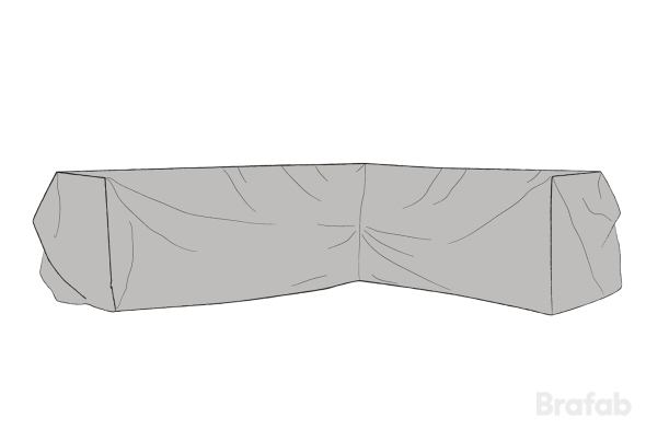Möbelskydd Soho 260/203x80x86cm Grå