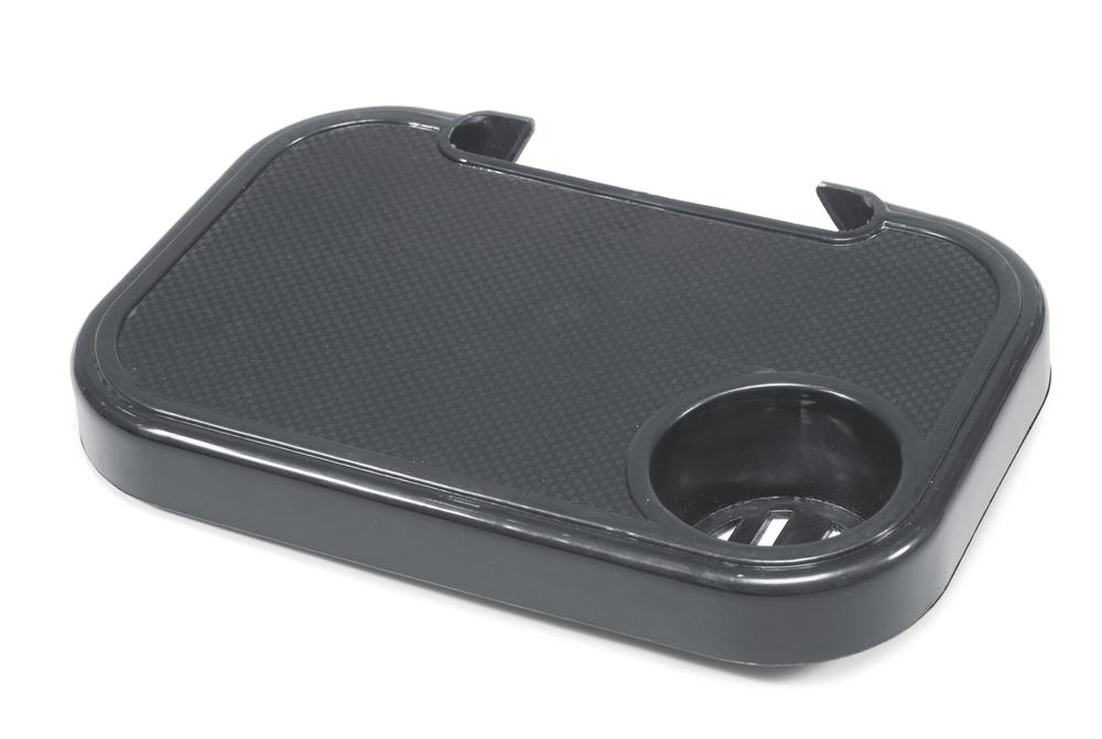 Baden Snacksbord svart plast 30X20cm