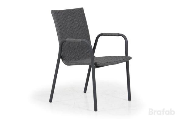 Carnac Karmstol Antracit/grå