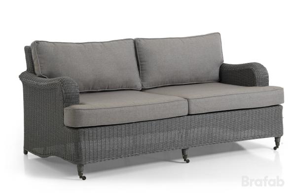 Lincoln Soffa 3-sits Grå