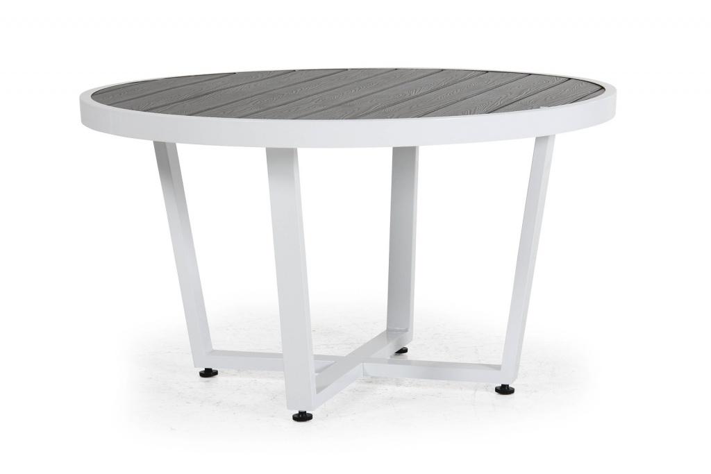 Leone Soffbord 100cm Vit/grå