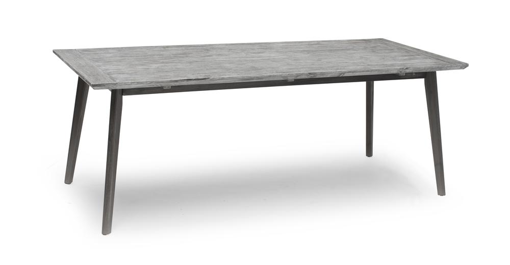 VALETTA bord 90x220cm grå
