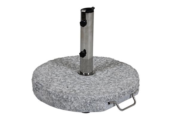 GROSSETO Parasollfot 40kg Ljus Granit