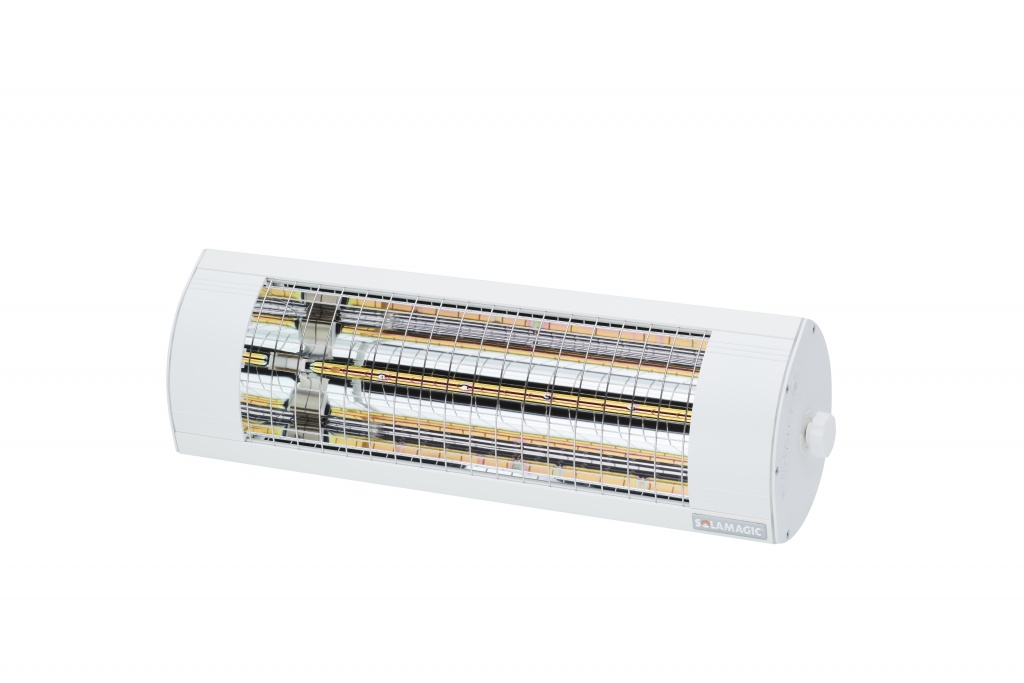 SOLAMAGIC Värmelampa 1400 Eco+ Pro Vit