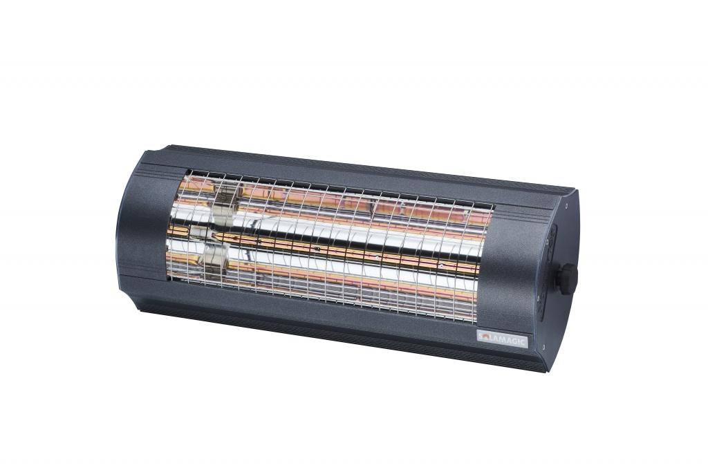 SOLAMAGIC Värmelampa 2000 Eco+ Pro Antracit