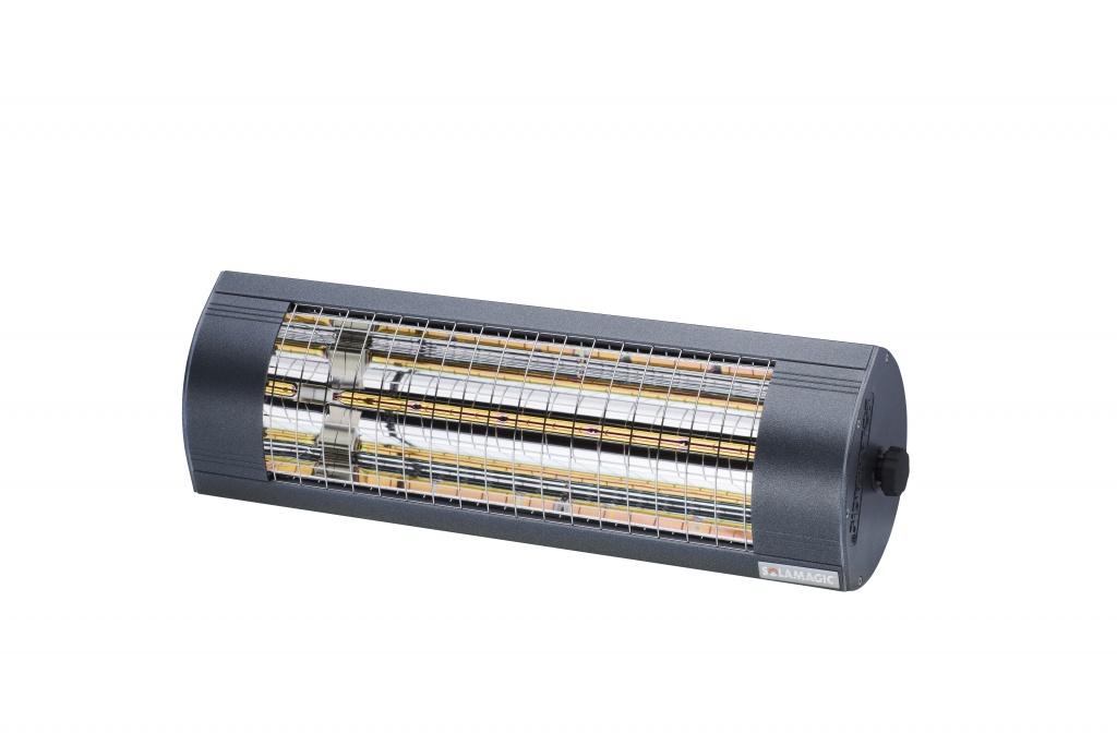 SOLAMAGIC Värmelampa 1400 Eco+ Pro Antracit
