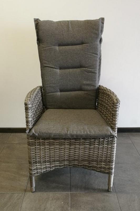 Georgia Pos.stol Vit/grå