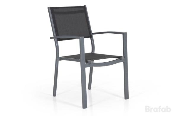 Leone Stapelstol Grå/grå