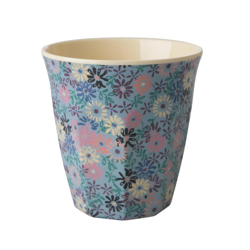 RICE mugg små blom medium