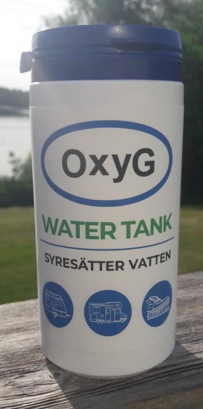 WATER TANK, OxyG Vattenrening