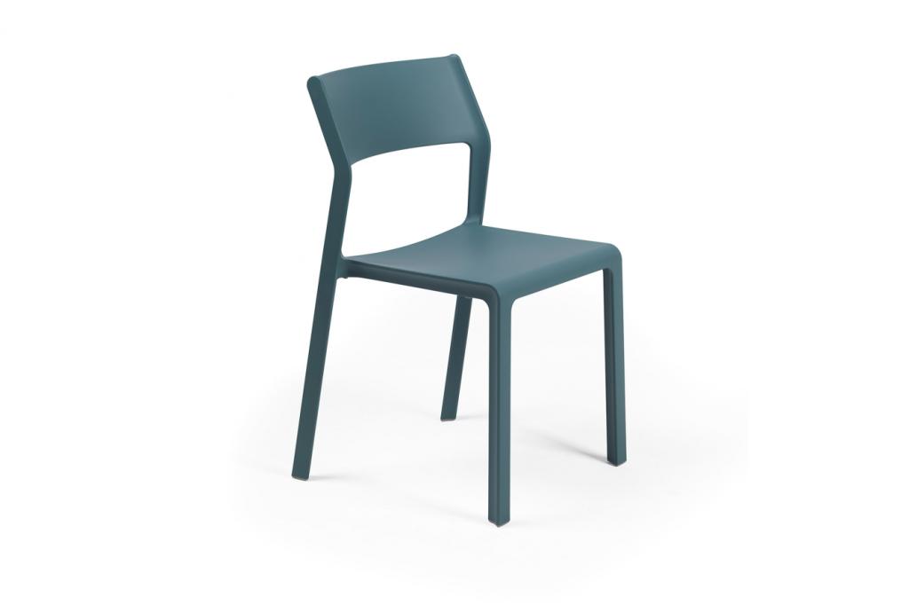 TRILL Stapelstol Blågrön