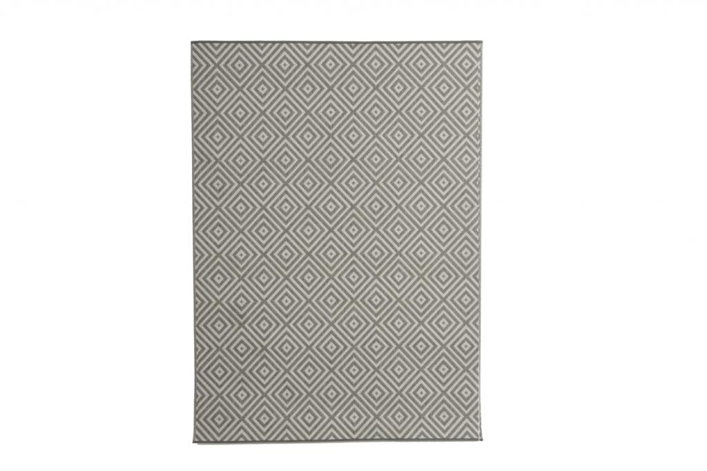EVORA Utomhusmatta grå 160x230cm