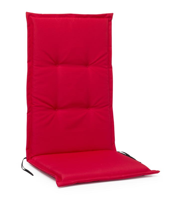 MONZA Pos.dyna hög 5cm Polyester Röd