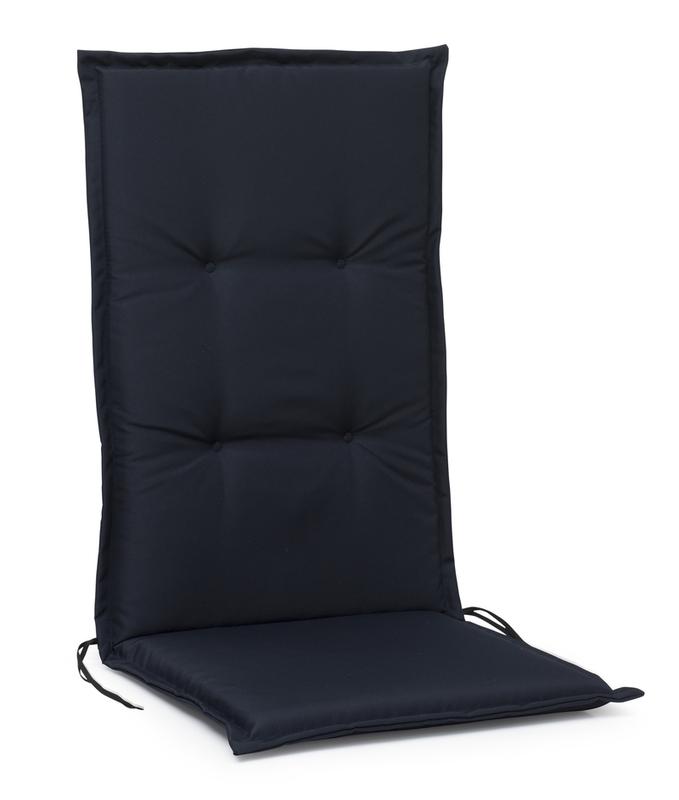 Monza dyna hög 5cm marinblå Polyester
