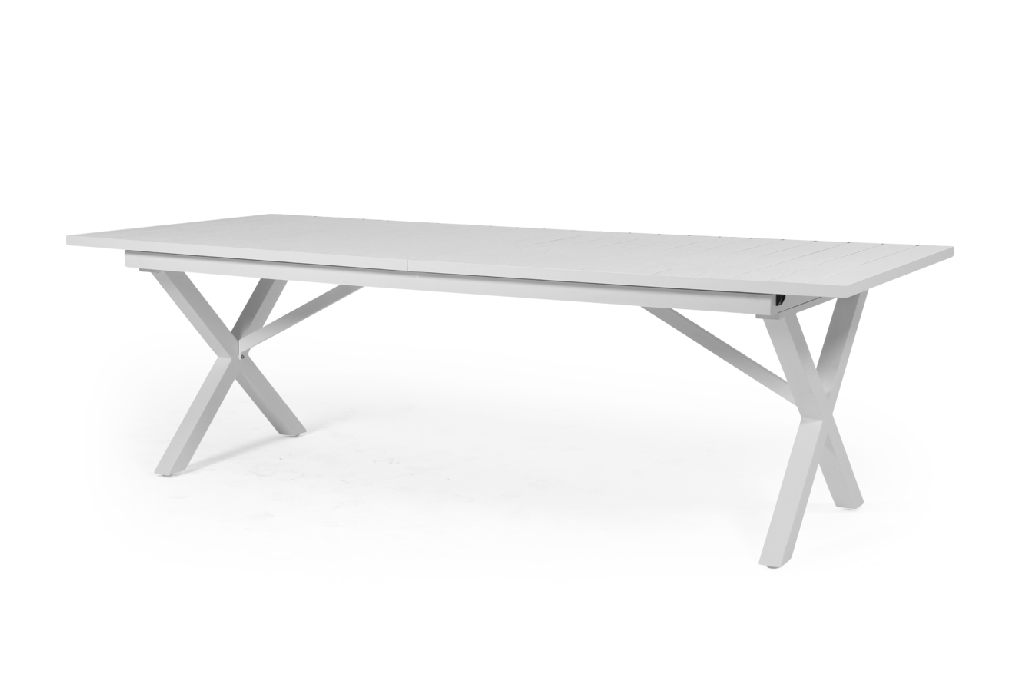 HILLMOND Bord 100x240/310cm Vit