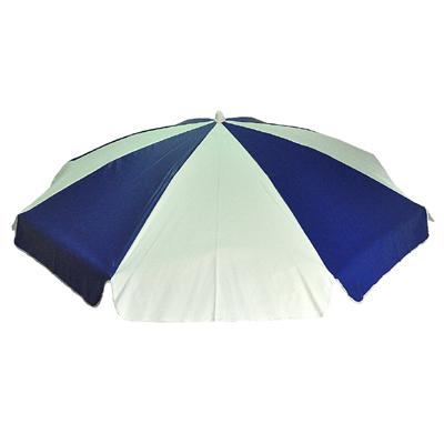 PARASOLL 180cm PVC Blå/vit