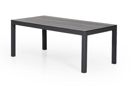 RODEZ Soffbord 130x65 H.50cm Svart/Grå