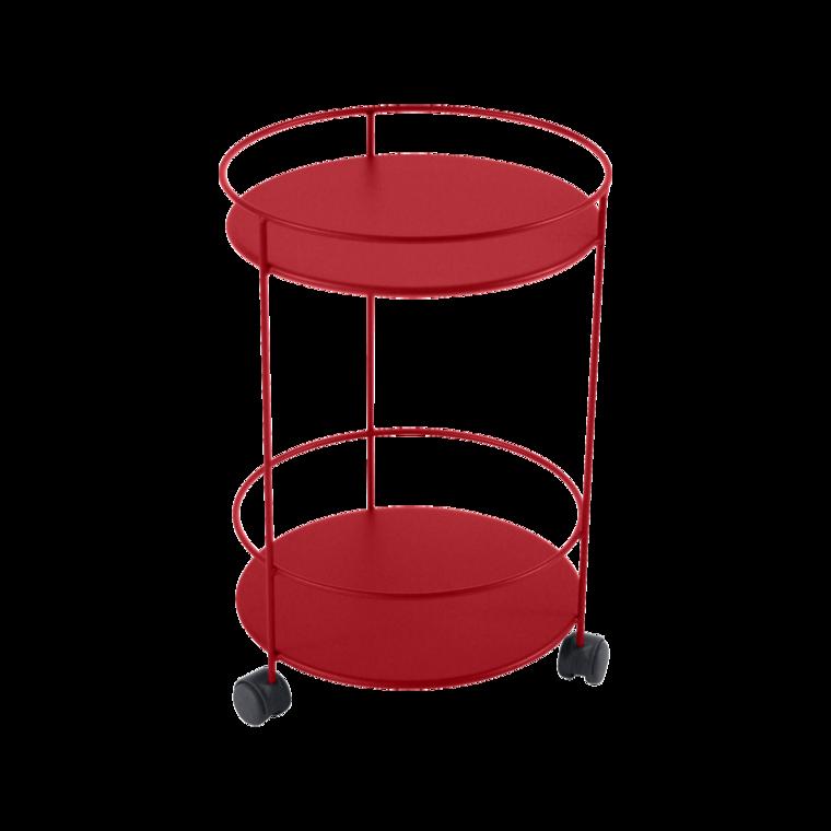 Bistro Guinguette bord m.hjul 40cm Poppy