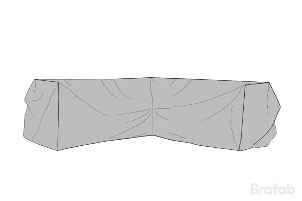 Möbelskydd Grå 203/203x80x86cm grå Soho