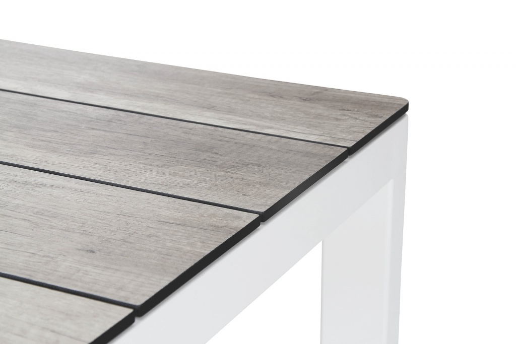Rodez Bord 160x95cm matt antracit/grå trälook