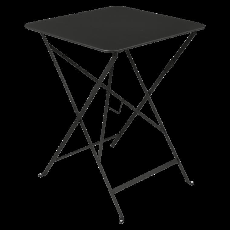 Bistro metal bord 57x57cm Liquorice