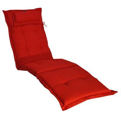Däckstolsdyna CANYON Röd
