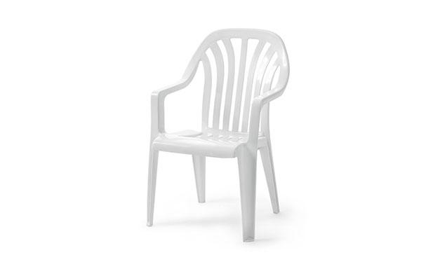 Vela stapelstol grå
