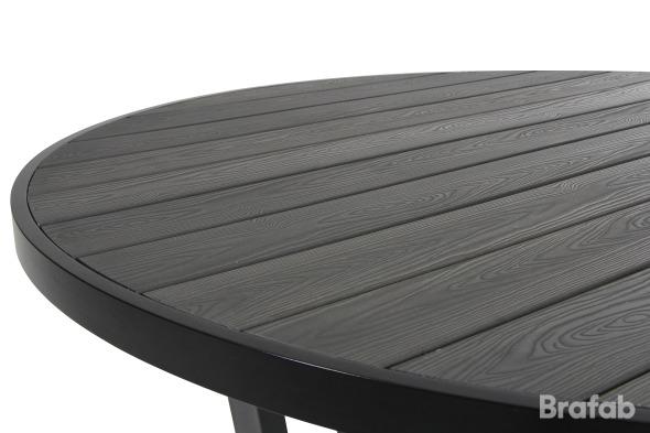 Leone Bord 130cm Vit/grå