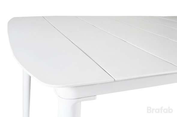 GRANDBY Matbord 100x212cm Vit