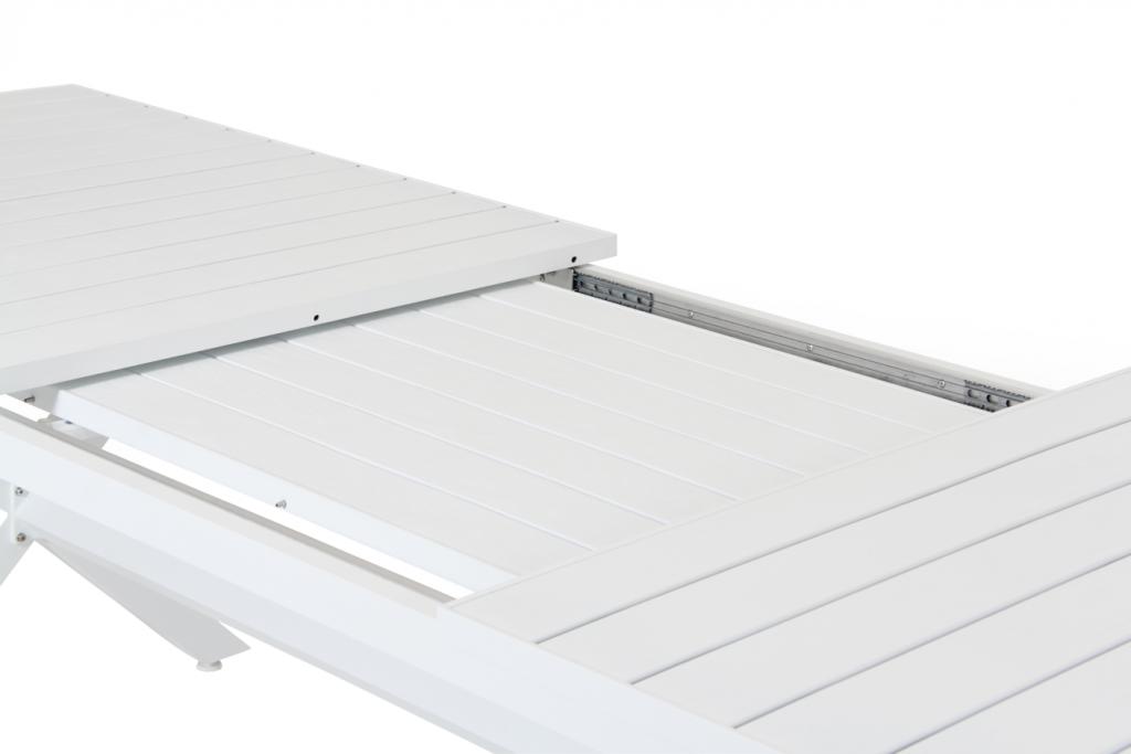 Hillmond förlängningsbord vit 240/310x100cm
