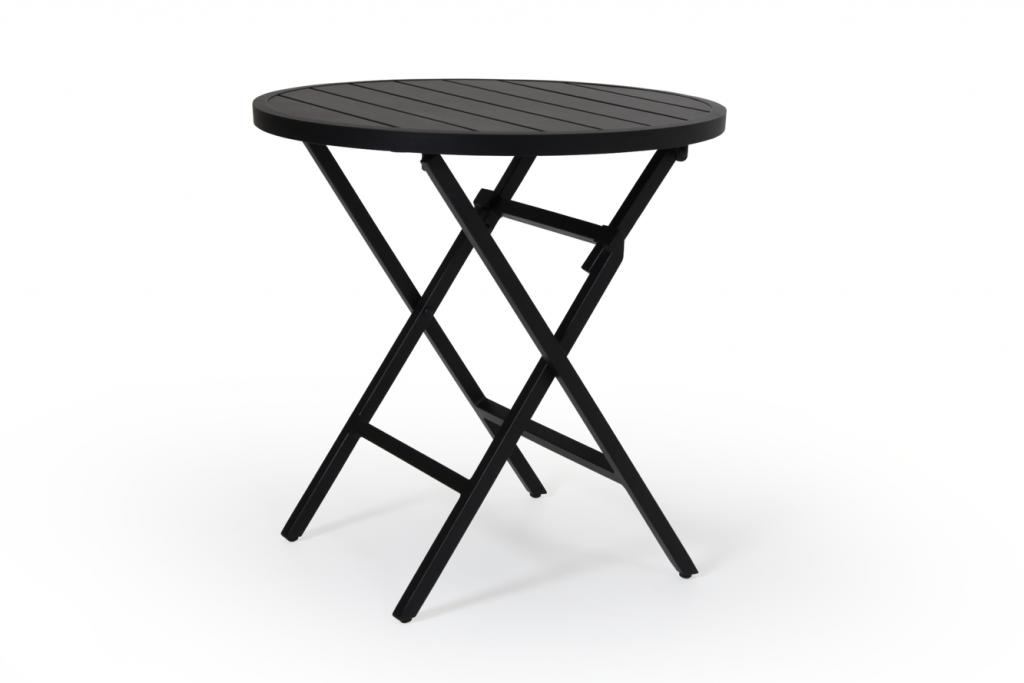 WILKIE bord 72cm runt svart