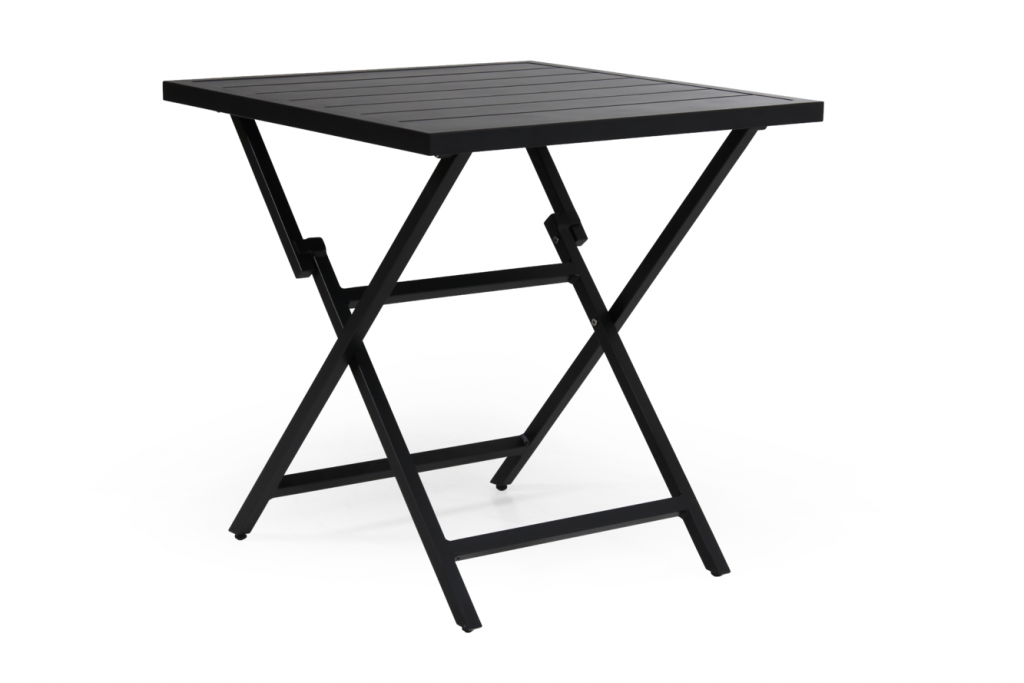 WILKIE bord 72x72cm svart