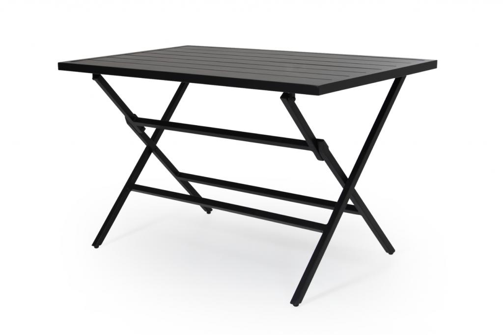 WILKIE bord 72x120cm svart